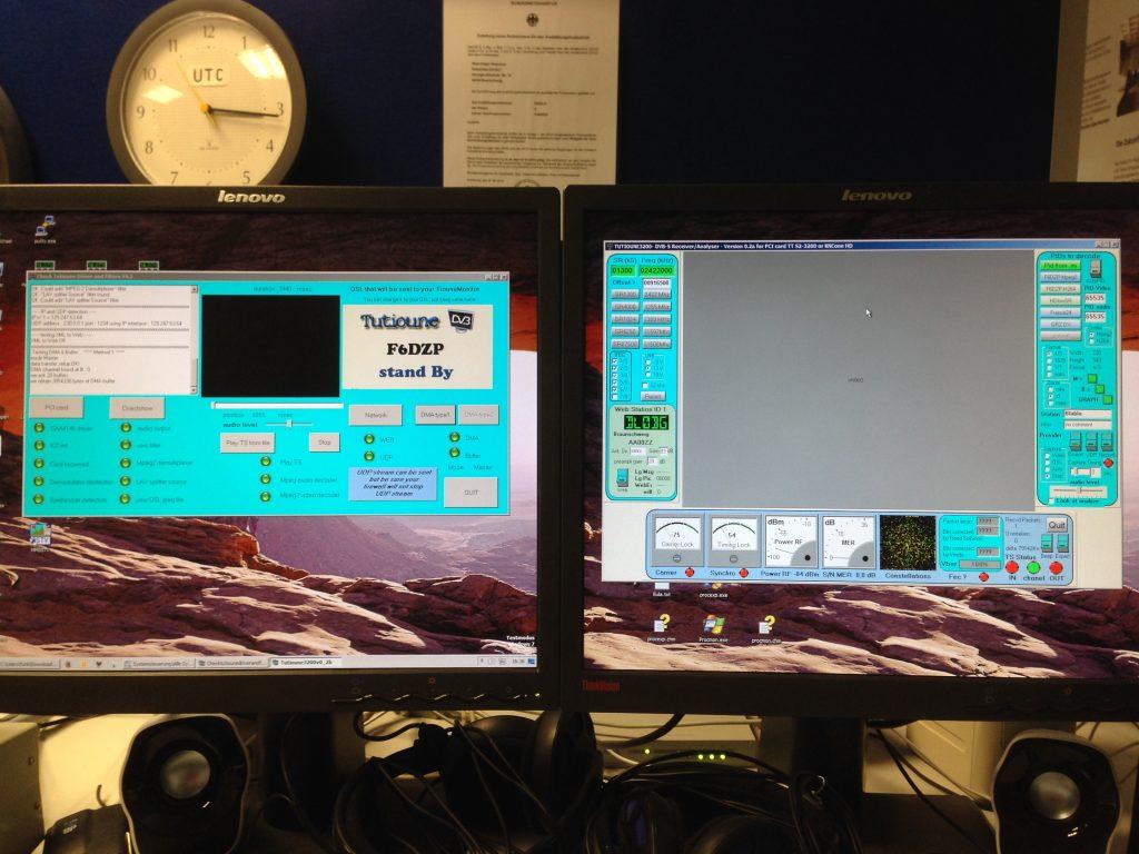 Die Tutioune Software für HAMvideo von der ISS